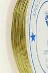 Медна тел 0.5 мм злато ~5 метра