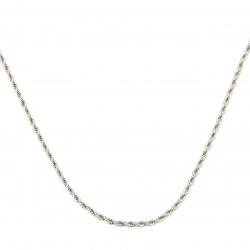 Синджир СТОМАНА 3 мм обла плетка цвят сребро -1 метър