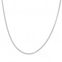Синджир СТОМАНА 3x1 мм плоска плетка цвят сребро -1 метър