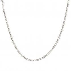 Lanț din oțel 4x1,5 mm tricot plat culoare argintiu -1 metru