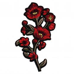 Апликация лепяща 80x170 мм цвете