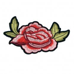 Апликация лепяща 130x85 мм роза