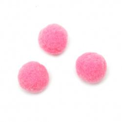 Πομ πομ 20 mm πρώτης ποιότητας ροζ -50 κομμάτια