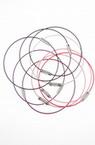 Гривна стоманена корда диаметър 6.5 см АСОРТЕ цветове