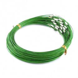 Гердан стоманена корда 440x1 мм зелен