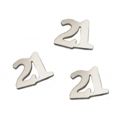 Elements for decoration number 13x10 mm -8 grams