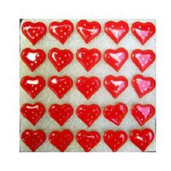 Светещи със секретна игла -Сърце 1 червено-мин.заявка 5 броя