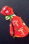 Светещи със секретна игла -Сърце с роза червено-мин.заявка 5 броя