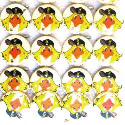 Светещи със секретна игла -кокошка-мин.заявка 5 броя