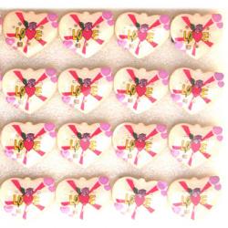 Светещи със секретна игла -сърце LOVE -мин.заявка 5 броя