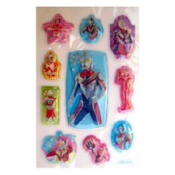 Decorative Stickers, 3D with beads, rangers -10 pieces