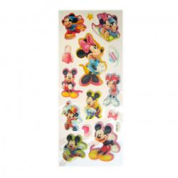 Figura lipicioasa Mickey Mouse și Minnie 2