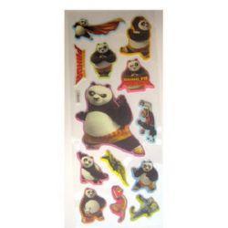 brocade stickers with  Kungfu Panda