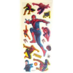 brocade stickers with Spiderman