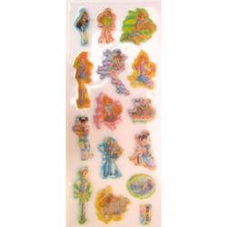 stickers 3D changing Winx