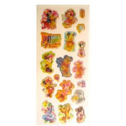 stickers 3D changing Mickey and Winnie the Poo