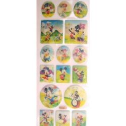 stickers 3D changing Mickey