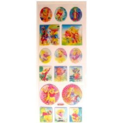stickers 3D changing Winnie the Pooh