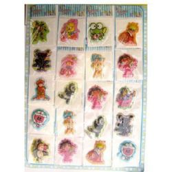 stickers 3D changing with beads4 -20 pieces
