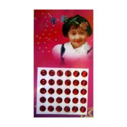 Sticker circle 7 mm -30 pieces