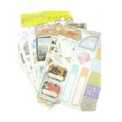 Adhesive Stickers Decoration Venice 6 sheets