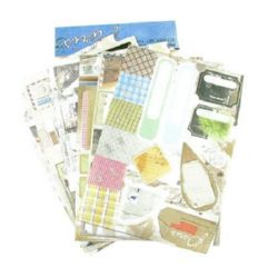 Adhesive stickers Paris 6 sheets