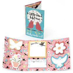 Sticky Notes Set, A Little Bird Six Designs , Each 25 pcs
