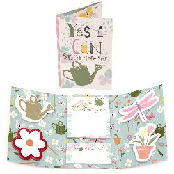 Комплект самозалепващи листчета YES I CAN 6 дизайна x 25 броя
