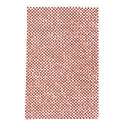 Pietre acrilice pentru lipire la cald patrat 2,5x2,5 mm roșu și cerc 2 mm transparent 120x200 mm-1 bucata