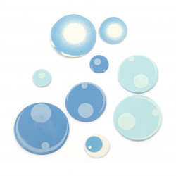 Foam Water bubbles /EVA foam material/ 15 ±40 mm - 70±80 pieces