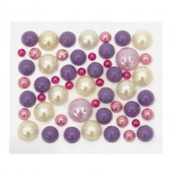 Самозалепващи перли полусфери 4~12 мм дъга