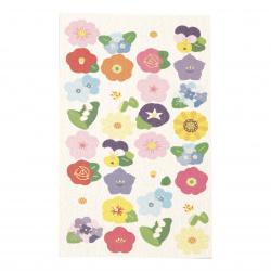 Autocolante de hartie autoadezive pentru decorarea florilor ASSORTE -32 buc