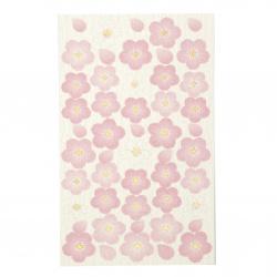 Самозалепващи хартиени стикери за декорация сакура -50 броя