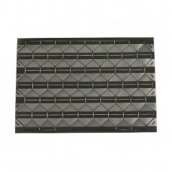 Самозалепващи фото ъгли/ъгълчета за снимка 147x103x0.3 мм триъгълник 12x15.5 мм цвят черен