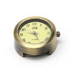 Часовник метал цвят античен бронз 28.5x26x13 мм дупка 3x15 мм