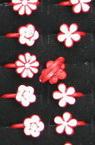 Пръстен метален бяло и червено асорте 8 вида