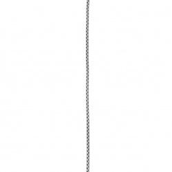 Синджир стомана неръждаема 316L 560x2 мм цвят сребро