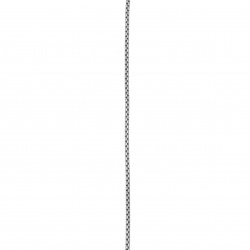 Lanț din oțel inoxidabil 316L 560x2 mm argintiu