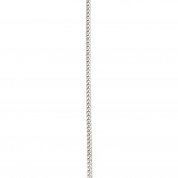 Lanț din oțel inoxidabil 316L 600x4 mm culoare argintiu