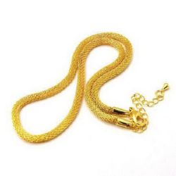 Chain 400x3 mm gold color
