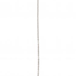 Синджир стомана неръждаема 304 508x2x1.5 мм цвят сребро