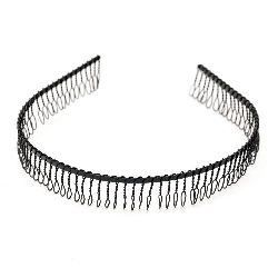 Tiara metal 16 mm black