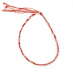 Гривна мартеница коприна -10 броя