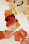 CARNELIAN Gemstone Chip Beads Strand 5-7 mm ~ 90 cm