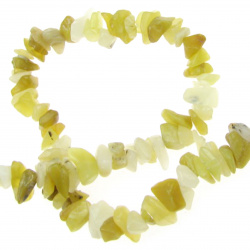 SERPENTINE Gemstone Chip Beads Strand 5-7 mm ~ 90 cm