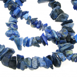 LAZURITE Gemstone chip Beads Strand  5-7 mm ~ 90 cm