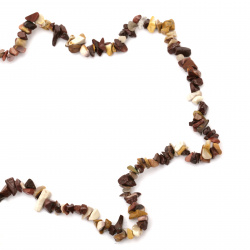 MOOKAITE Chip Beads Strand  5-7 mm ~ 90 cm