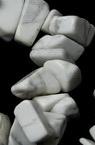 Șiruri cu pietre naturale de 8-12 mm ~ 90 cm HAULIT
