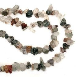 Șir cu pietre naturale de 8-12 mm ~ 90 cm MIX