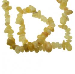 Наниз естествени камъни чипс 8-12 мм ~90 см АХАТ